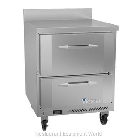 Victory VWRD27HC-2 Refrigerated Counter, Work Top