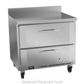 Victory VWRD36HC-2 Refrigerated Counter, Work Top