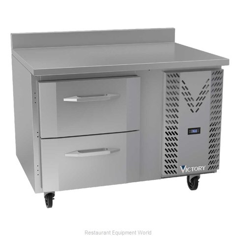 Victory VWRD46HC-2 Refrigerated Counter, Work Top