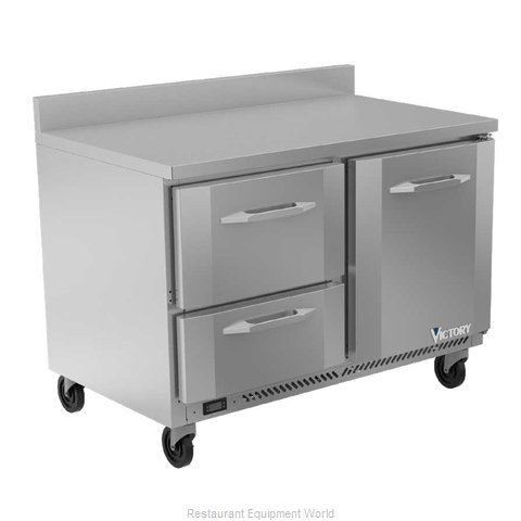 Victory VWRD48HC-2 Refrigerated Counter, Work Top