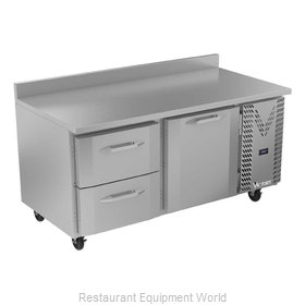Victory VWRD67HC-2 Refrigerated Counter, Work Top
