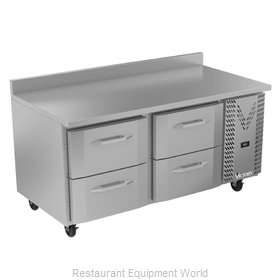 Victory VWRD67HC-4 Refrigerated Counter, Work Top