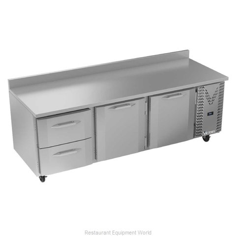 Victory VWRD93HC-2 Refrigerated Counter, Work Top