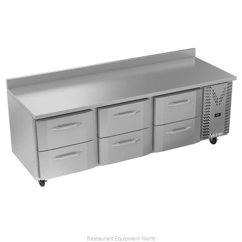 Victory VWRD93HC-6 Refrigerated Counter, Work Top
