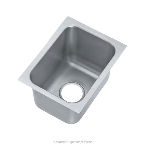 Vollrath 10101-1P Sink Bowl, Weld-In / Undermount