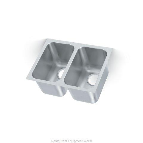 Vollrath 10102-1 Sink Bowl, Weld-In / Undermount