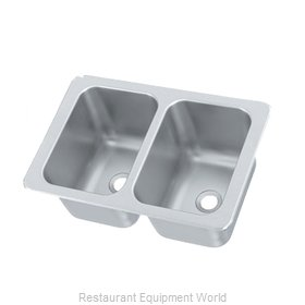 Vollrath 102-1-2 Sink, Drop-In