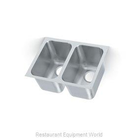 Vollrath 12102-1 Sink Bowl, Weld-In / Undermount