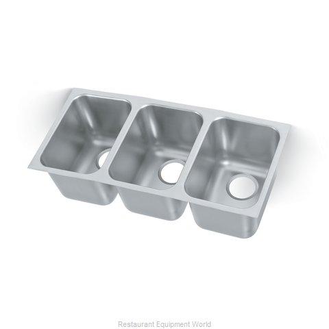 Vollrath 12103-1 Sink Bowl, Weld-In / Undermount