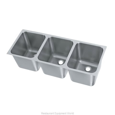 Vollrath 12123-2 Sink Bowl, Weld-In / Undermount