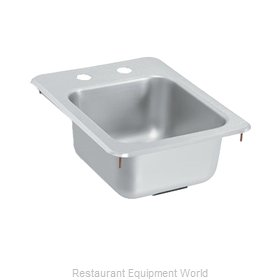 Vollrath 173-4-2 Underbar Sink, Drop-In