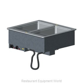 Vollrath 3640080 Hot Food Well Unit, Drop-In, Electric