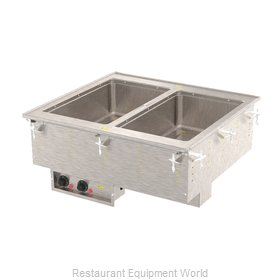 Vollrath 3640080HD Hot Food Well Unit, Drop-In, Electric