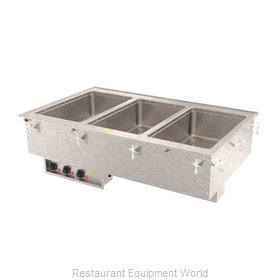 Vollrath 3640480HD Hot Food Well Unit, Drop-In, Electric