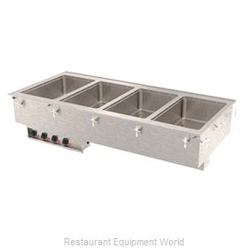 Vollrath 3640750 Hot Food Well Unit, Drop-In, Electric