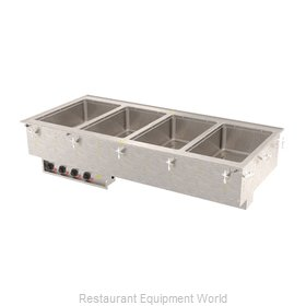 Vollrath 3640751HD Hot Food Well Unit, Drop-In, Electric