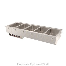 Vollrath 3640801HD Hot Food Well Unit, Drop-In, Electric