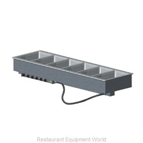 Vollrath 36409 Hot Food Well Unit, Drop-In, Electric