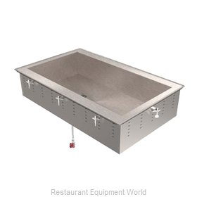 Vollrath 36429R Cold Food Well Unit, Drop-In, Refrigerated
