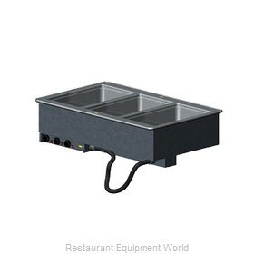 Vollrath 36473 Hot Food Well Unit, Drop-In, Electric