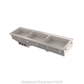 Vollrath 3664030 Hot Food Well Unit, Drop-In, Electric