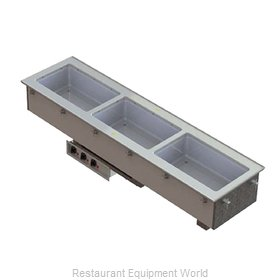 Vollrath 3664630 Hot Food Well Unit, Drop-In, Electric
