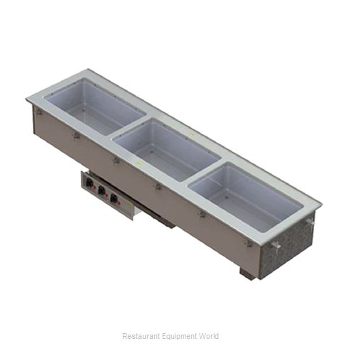 Vollrath 3664720 Hot Food Well Unit, Drop-In, Electric