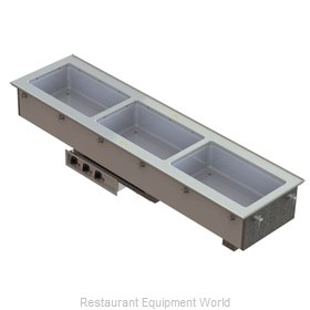 Vollrath 36650HD Hot Food Well Unit, Drop-In, Electric