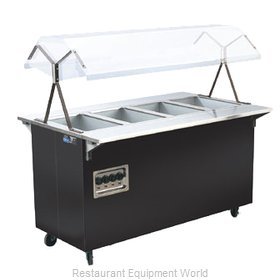 Vollrath 38710 Four Well Hot Food Station - 120V, 60