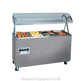 Vollrath 38731 Four Well Hot Food Station - 120V, 60