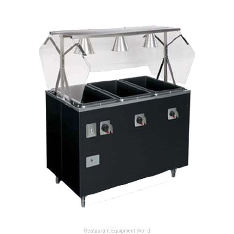 Vollrath 38768 Serving Counter, Hot Food, Electric