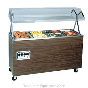 Vollrath 38770 Four Well Hot Food Station - 120V, 60