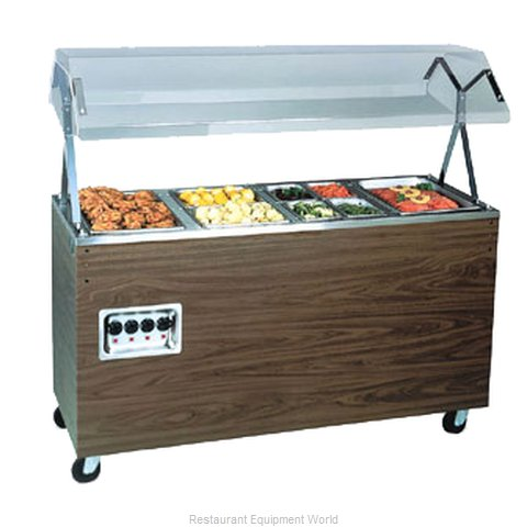 Vollrath 38772 Four Well Hot Food Station - 120V, 60