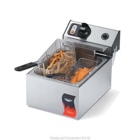 Vollrath 40706 Countertop Electric Fryer (Magnified)