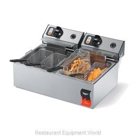 Vollrath 40707 Fryer, Electric, Countertop, Split Pot