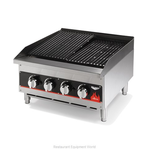 Vollrath 407302 Charbroiler, Gas, Countertop