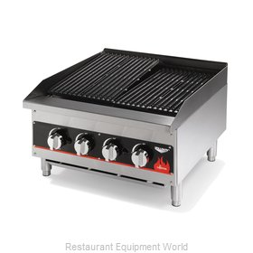 Vollrath 407312 Charbroiler, Gas, Countertop