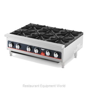 Vollrath 40738 Hotplate, Countertop, Gas