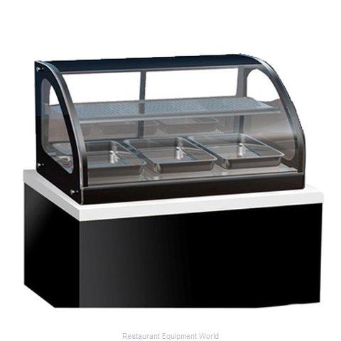 Vollrath 40845 Display Case, Heated, Drop-In