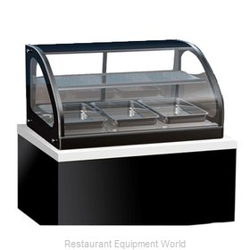 Vollrath 40845 Display Case, Heated, Drop-In