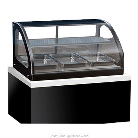 Vollrath 40846 Display Case, Heated, Drop-In