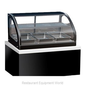 Vollrath 40846 Display Case, Heated, Drop-In