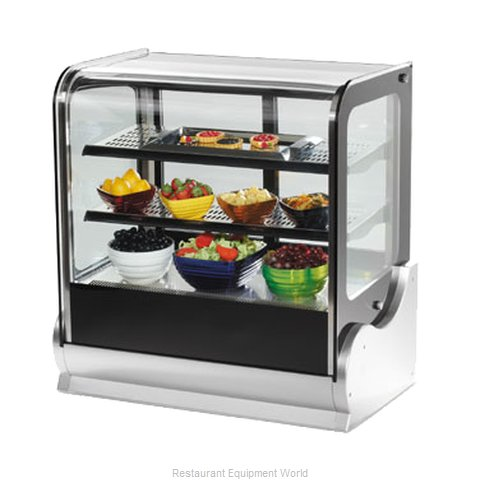 Vollrath 40863 Display Case, Refrigerated, Countertop