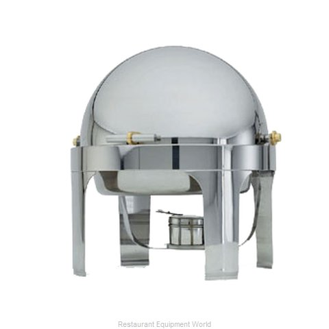 Vollrath 46070 New York, New York Chafer - Round 6 Qt. (Magnified)