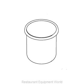 Vollrath 4635430-1 Chafing Dish Pan