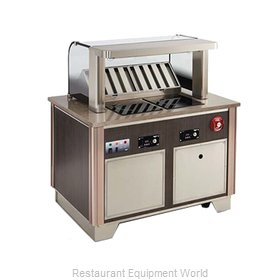 Vollrath 69722C-2-S Induction Hot Food Serving Counter