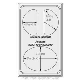 Vollrath 8240416 Adapter Plate