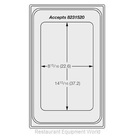 Vollrath 8240516 Adapter Plate