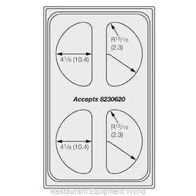 Vollrath 8241314 Adapter Plate