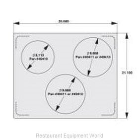 Vollrath 8250614 Adapter Plate